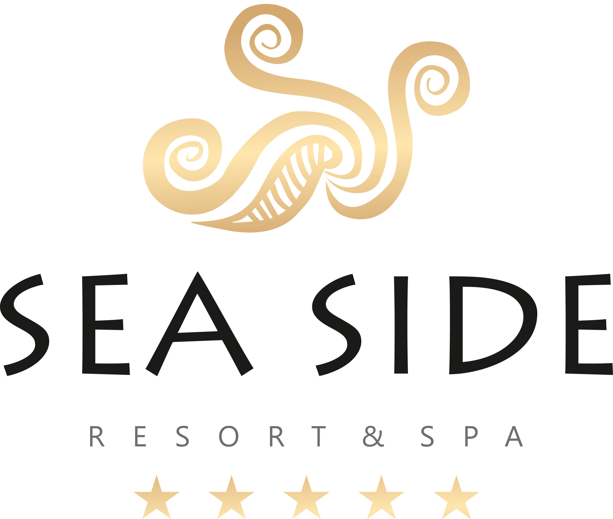 Sea Side Resort & Spa Logotype (Color)