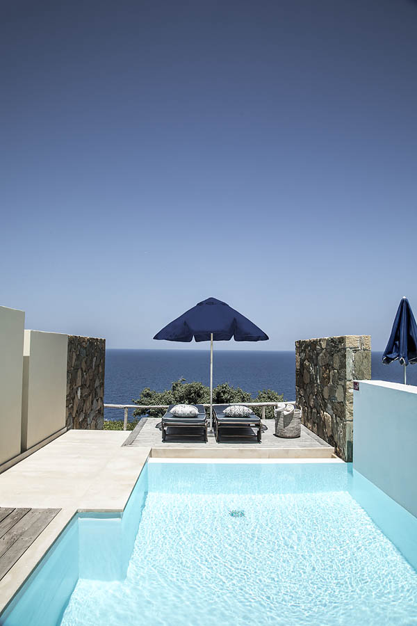 Superior, Sea View with independent pool
