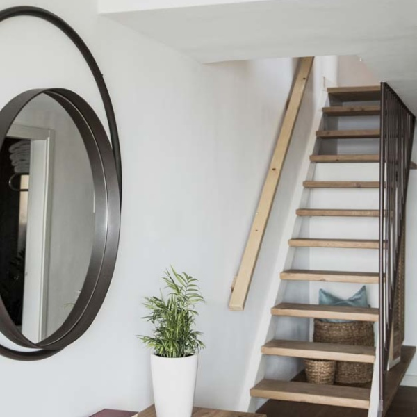 Suite Maisonette style sea view stairs 4